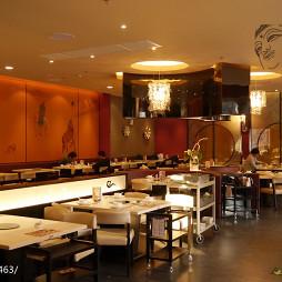 中餐厅背景墙设计