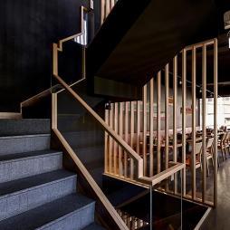 小餐馆楼梯装修设计