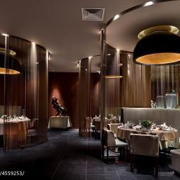 美食餐厅吊顶装修设计