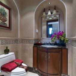 美式样板间卫生间装修设计