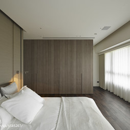 简约现代别墅卧室衣柜设计