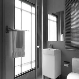 宾馆客房卫生间窗户装修设计