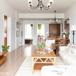 简约美式客厅装修设计