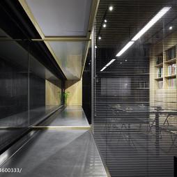 设计研究室走廊装修效果图