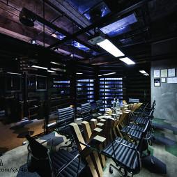 后现代创意办公会议室设计