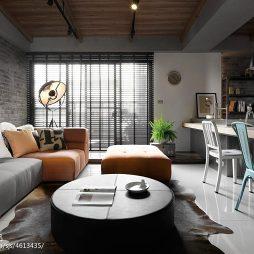 二居小户型客厅窗户装修效果图