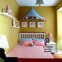 简约美式儿童房搁板架设计图片