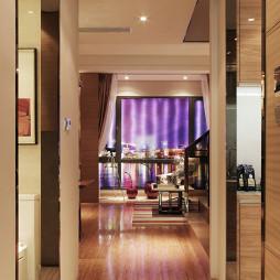 混搭风格Loft公寓过道装修效果图