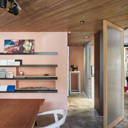 微型办公室隔断折叠门装修设计