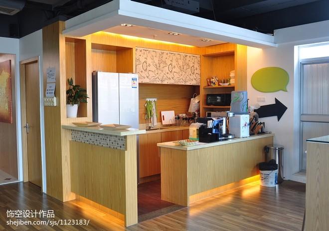 办公空间茶水间装修设计