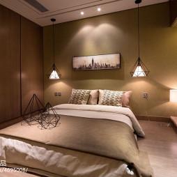 混搭卧室背景墙效果图大全