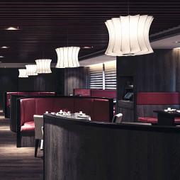 餐厅吊顶设计效果图集