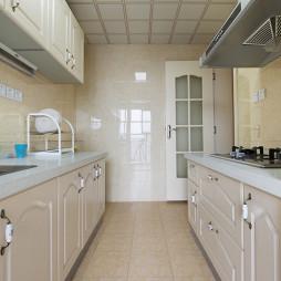 美式田园厨房设计