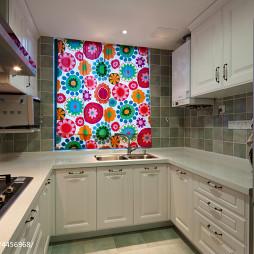 复式楼美式厨房设计
