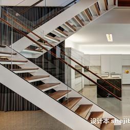 最新小跃层楼梯效果图设计