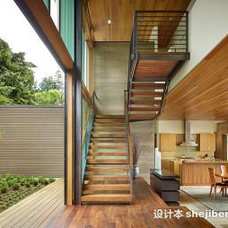 最新小跃层楼梯效果图装修