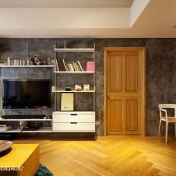 个性现代客厅电视柜设计
