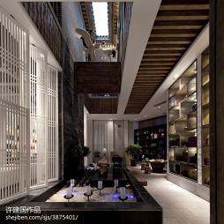 茶馆展示空间设计