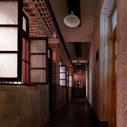情调小餐厅过道吊顶装修设计