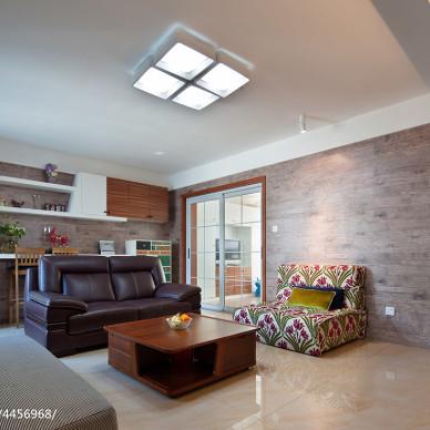 混搭风格客厅吊顶图片