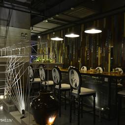 餐馆吧台装修设计