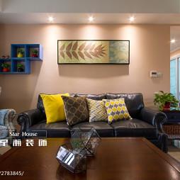 美式风格客厅背景墙设计