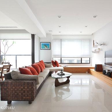 四居室混搭客厅设计