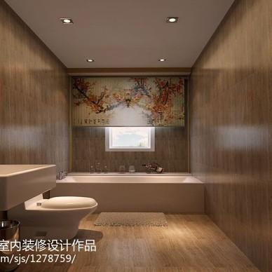 【现代中式】领馆区1号现代中式风格装修案例_1993142