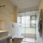 简约中式卫生间样板房设计图片