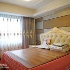 新古典风格卧室窗帘效果图