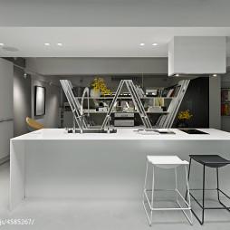 现代创意办公室家具装修设计