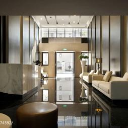 86平混搭家居展厅服务台设计