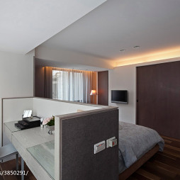 美式卧室隔断装修设计