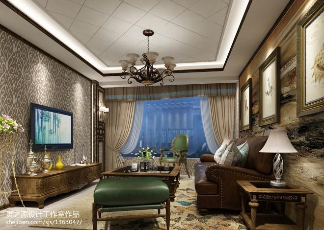 客厅墙面装饰设计效果图欣赏