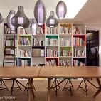 室内设计工作室书柜设计