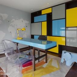 混搭私人公寓书房设计