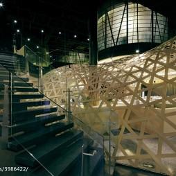 中餐厅楼梯装修设计