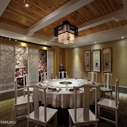 中餐厅包房效果图
