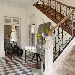 田园楼梯图片