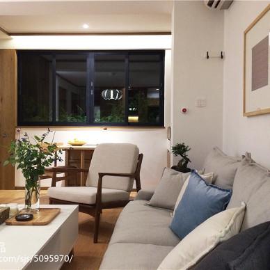 二居室混搭客廳窗戶設計效果圖