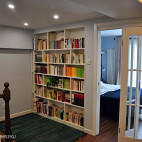 小户型美式书房隔断装修设计