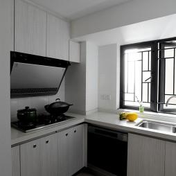混搭厨房窗户样板间设计