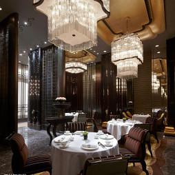 酒店餐厅吊顶装修效果图大全