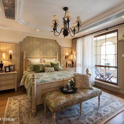 混搭豪宅卧室样板房图片