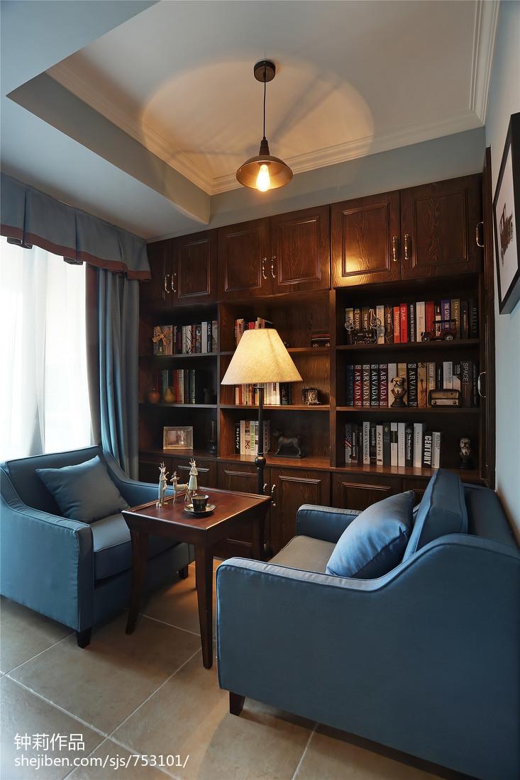 咖啡厅装修效果图_转角书桌书柜组合效果图_欧式简易书柜设计_设计本专题
