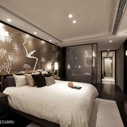 中式卧室样板房设计