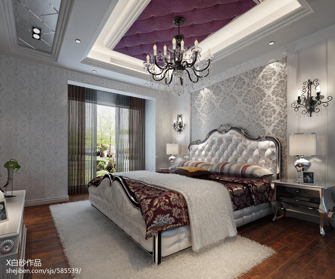 主卧背景墙纸效果图_客厅卧室壁纸装修效果图欣赏 – 设计本装修效果图