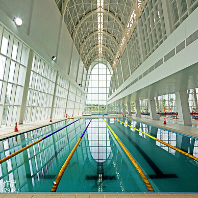 佛山-高明区体育中心设计效果图片