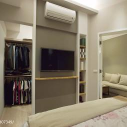 美式生活宅卧室衣帽间装修设计