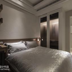 欧式风格卧室衣柜样板房设计